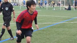 サッカーの試合①